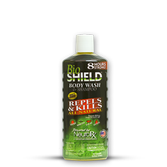 BioShield Body Wash and Shampoo Bug Repellent