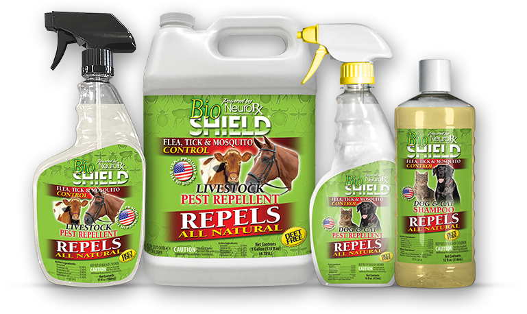 BioShield Pet and Livestock Products Bug Repellent